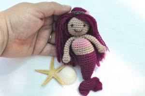 mini mermaid free pattern