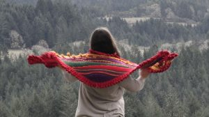 Wrap up in this gorgeous shawl